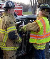 Fire Department Extrication Demonstration