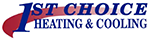 1st Choice Heating & Cooling logo