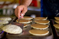 enjoy the all you can eat pancake breakfast